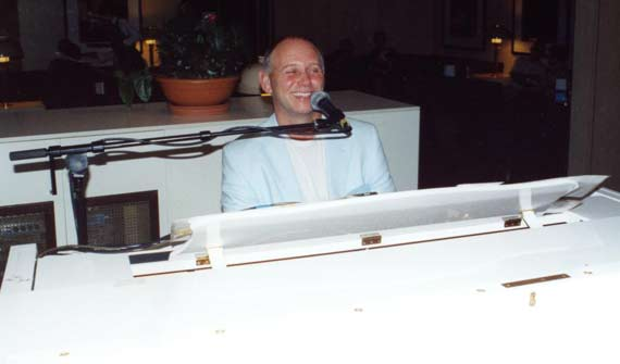 Tony B Piano Vocal Entertainer for weddings, piano bars & corporate functions
